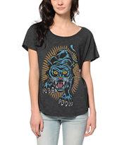 Obey Blacklight Power Modern Dolman T-Shirt