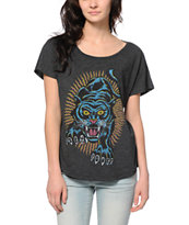 Obey Blacklight Power Modern Dolman Tee Shirt