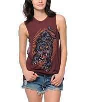 Obey Blacklight Power Nubby Muscle T-Shirt