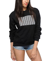 Obey Block Crew Neck Sweatshirt