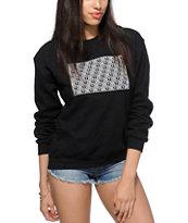 Obey Block Crew Neck Sweatshirt