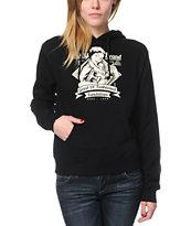 Obey Brandalism Black Pullover Hoodie