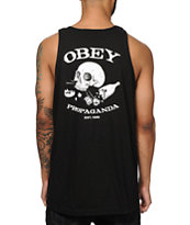 Obey Broken Bottles & Hearts Tank Top