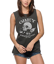 Obey Broken Bottles Muscle Tee
