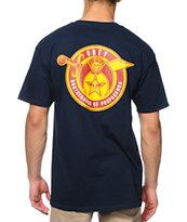 Obey Brotherhood Navy T-Shirt