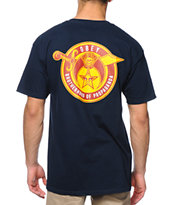Obey Brotherhood Navy Tee Shirt
