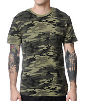 Obey Camo Pocket Tee Shirt
