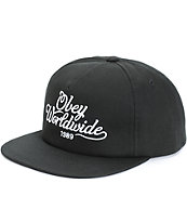 Obey Campaign Snapback Hat