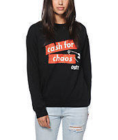 Obey Cash For Chaos Crew Neck Sweatshirt