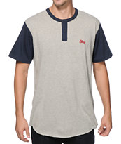 Obey Cast Henley T-Shirt