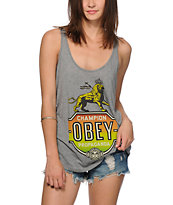 Obey Champion Lion Tank Top