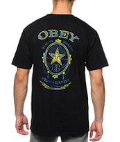 Obey Chronic Black Tee Shirt