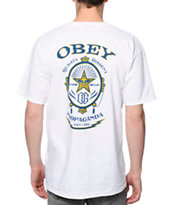 Obey Chronic White Tee Shirt