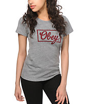 Obey Club Script T-Shirt