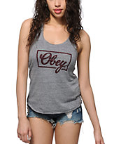 Obey Club Script Tank Top