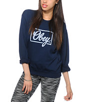 Obey Club Spirit Crew Neck Sweatshirt