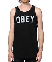 Obey Collegiate Reflective Tank Top