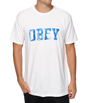 Obey Collegiate Watercolor T-Shirt