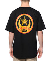 Obey Crescent Moon Black Tee Shirt