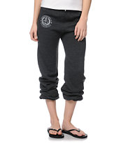 Obey Cruise Liner Charcoal Grey Sweat Pants