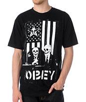 Obey DK Black T-Shirt