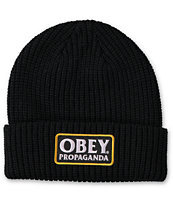 Obey Damaged Beanie