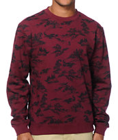 Obey Darcell Crew Neck Sweatshirt
