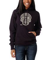 Obey Day Of The Dead Blackberry Pullover Hoodie