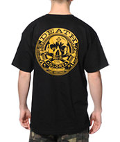 Obey Death Or Glory Black Tee Shirt