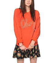 Obey Demeter Crew Neck Sweatshirt