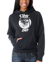 Obey Devious Scumbags Girls Charcoal Pullover Hoodie