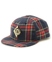 Obey Diaonne Plaid Throwback Hat