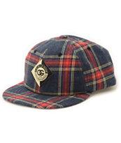 Obey Diaonne Plaid Throwback Hat