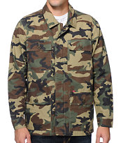 Obey Dissent Camo Jacket
