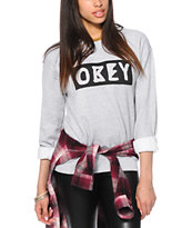 Obey Dive Bar Crew Neck Sweatshirt