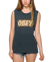 Obey Drug Rug Muscle Tee