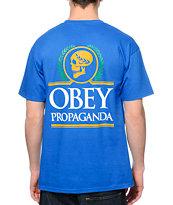 Obey Emperor Blue T-Shirt