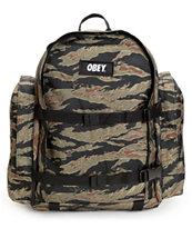 Obey Field Tiger Camo Laptop Backpack