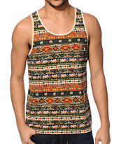 Obey Folklore Tan Pocket Tank Top