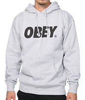 Obey Font Hoodie