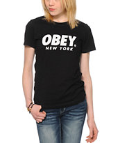 Obey Font NYC T-Shirt