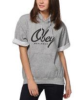 Obey Get Like Me Short Sleeve Hoodie