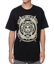 Obey Ghosts Of War Black Tee Shirt