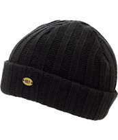 Obey Girls Blizzard Black Fold Beanie
