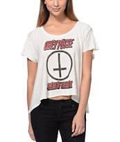 Obey Girls Speak Of The Devil Natural Slub Dolman Top