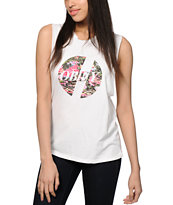 Obey Glitch Gardens Muscle Tee