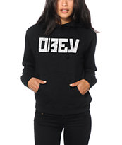 Obey Gothic Lace Hoodie