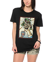 Obey Grenade Black Tee Shirt
