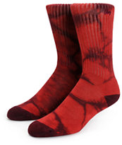 Obey Haight Tie Dye Crew Socks