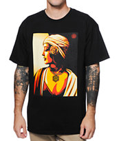 Obey Harmony 11 Black Tee Shirt